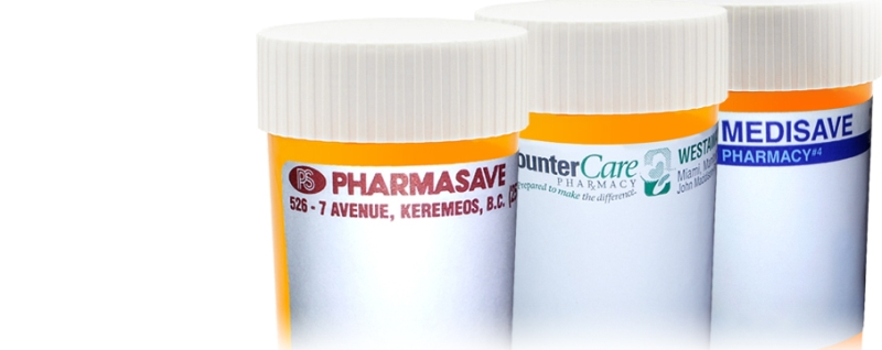 Pharmacy Labels by Glenwood Label Printing & Packaging