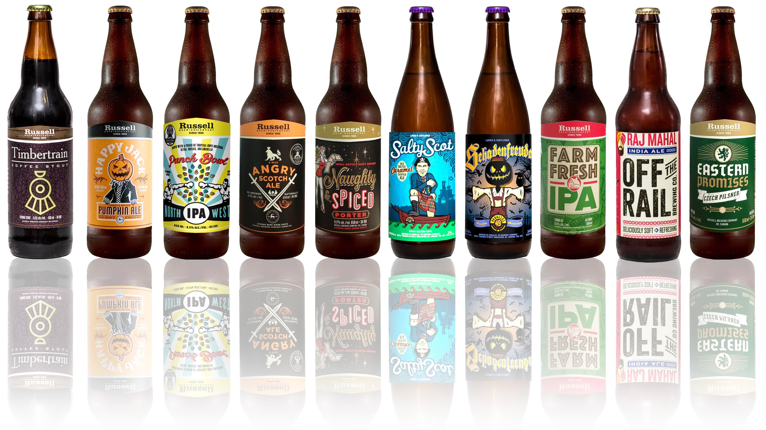 Craft Beer Bottle Labels by Glenwood Label Printing & Packaging