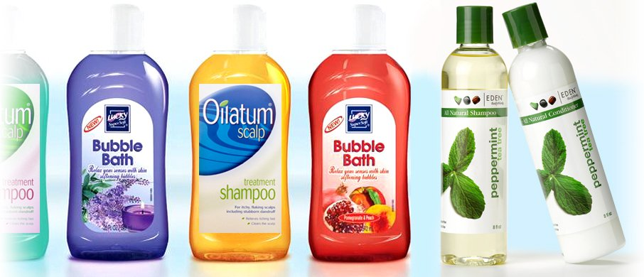 Shampoo Bottle Labels by Glenwood Label Printing & Packaging