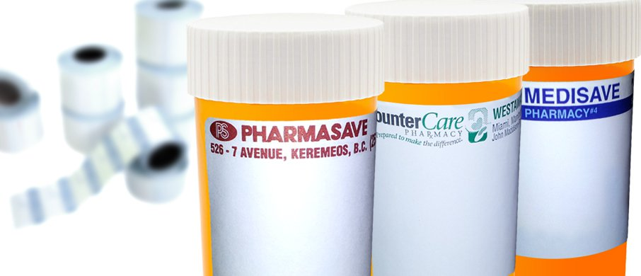 Hospital Pharmacy Labels by Glenwood Label Printing & Packaging